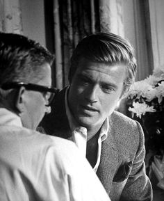 a young robert redford