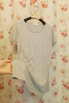 acf8aaa504111 Cheap Maternity/Nursing Clothes from China - Taobao · Japan's latest export  trade of the original single-solid color short-sleeved summer shirt
