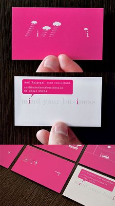 Mind Your Business Business Cards Design