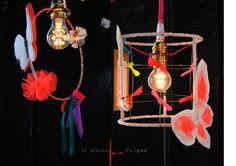 El atelier de las Pulgas.Lámparas.