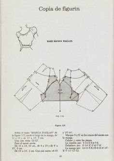 How to convert a pattern for set-in sleeve to a raglan