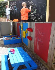 игровая зона детям на даче