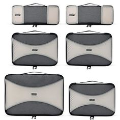 PRO Packing Cubes - 6 Set - Ultimate Travel Packing Cube ...