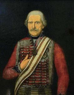 Major General Gebhard Leberecht von Blücher, by unknown artist (1800). Owned by the Masonic lodge Pax inimica malis, Emmerich