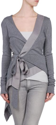 Alice San Diego Cardigan in Beige (camel) - Lyst Estilo Fashion, Look Fashion, Diy Fashion, Womens Fashion, Beige Cardigan, Wrap Cardigan, Hooded Cardigan, Wrap Blouse, Diy Clothing