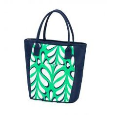 Monogrammed Cooler Tote (Color: Island Palm)