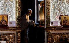 Botez #orthodox church christening ritual #Christening #baptism