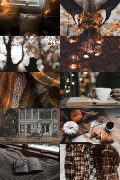 i will never get bored of making autumn aesthetics