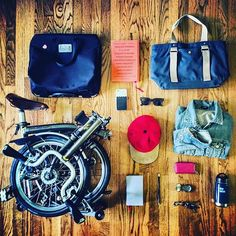 The winner of this week's #MyBromptonBag is @bike.be.nimble for this clean and smart effort. We still have two more bags to give away before the competition finishes. Enter by showing us what's in your bag using the hashtag #MyBromptonBag. More info can be found through the link in our bio.