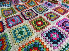 Granny Blanket.  WoolnHook by Leonie Morgan