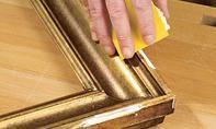 Öl-Gemälde restaurieren: Schritt 6 von 11 Fence, Beautiful, Frames, Palette Knife, Canvas Frame, Picture Frame, Canvas