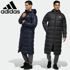 The fact that you are looking for heat does not mean that you choose boring colors. The long down ja Different Styles, Winter Jackets, 31, Stylish, Coats, Fashion, Men Coat, Winter Coats, Moda