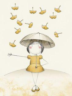 Gingko illustration