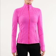 Lululemon Paris Pink Heathered Define Jacket