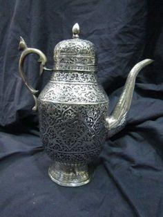 Antique Teapot in German Silver