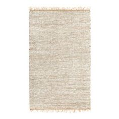 @Overstock.com - Hand-woven White Leather/ Hemp Rug (8' x 10') - $151.99 Hand-woven in North Central India of soft leather and natural hemp Highlighted by hues of white and natural tan Reversible design adds durability  http://www.overstock.com/Home-Garden/Hand-woven-White-Leather-Hemp-Rug-8-x-10/1777767/product.html?CID=214117 $151.99