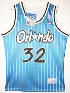 neu Champion NBA Basketball Trikot Jersey Orlando Magic Shaquille Oneal 40 M ed90ce9ea