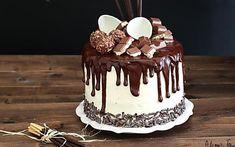 Drip cake tutorial italiano e video ricetta - Ganache Drip cake al cioccolato