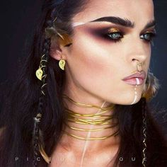 #WarPaint #Makeup #ArtisticMakeup