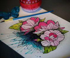 #sketchwork #artwork #sketchart #artsketch #art #sketch #sketchy #sketcher #sketches #sketchtattoo #tattoosketch #watercolor #watercolorart #watercoloring #watercolorartist #watercolorsketch