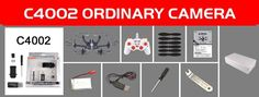 Helicopter drone quadcopter with C4015 Wifi FPV HD Camera C4002 HD Camera