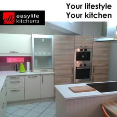 Easylife Kitchens George kitchens are all quoted as complete and fitted with the best appliances and accessories to ensure maximum satisfaction. Visit our store in George today for professional assistance. #lifestyle #designerkitchens