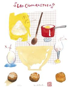 more illustrated recipe goodness