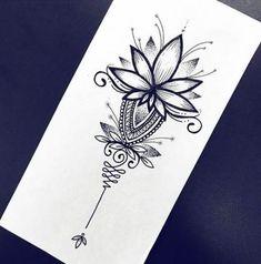 Best tattoos ideas for women ! Best tattoos ideas for women ! Tattoos Mandalas, Mandala Hip Tattoo, Mandala Tattoo Design, Henna Tattoo Designs, Lotus Mandala, Tattoo Ideas, Tattoo Arm, Unalome Tattoo, Trendy Tattoos