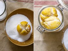 Preserved Lemons for North African dishes