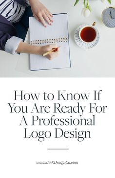 A professional logo design is a great way to take your business to the next level, but are you really ready to make the investment? Check out these 5 must-have signs that you are ready for a new logo. #rebrand #logodesign #logo #branding #entrepreneurship