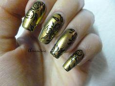 Amandine nail art reproduction Tartofraise