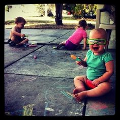 Simple Outdoor Activities for Toddlers & Preschoolers | Jornie.com ~ great ideas to get the kiddos outdoors as the weather gets warmer!