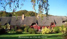 chambres d'hôtes de charme en Normandie à 30 mn d'ETRETAT , 40 mn d'HONFLEUR et 8 mn de la mer. #chambres #hotes #normandie #B&B