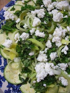 Zucchini Carapaccio