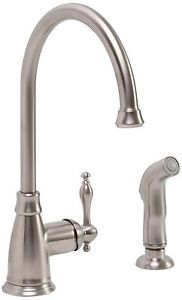 Moen Edison Spot Resist Brushed Nickel 1Handle Higharc Kitchen Inspiration Brushed Nickel Kitchen Faucet 2018