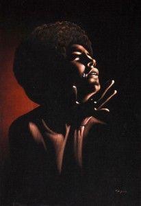 Velvet Crying Afro Queen