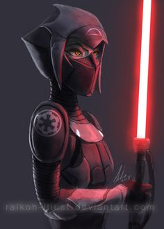 Imperial Inquisitor First Sister by Raikoh-illust on DeviantArt