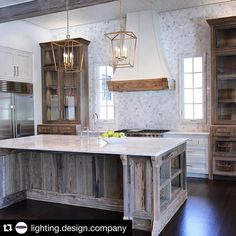 #Repost @lighting.design.company with @repostapp. ・・・ Another great kitchen by @oldseagrovehomes with great lighting. Pendant lighting is a great way to add flair to any kitchen.  #lighting #lightingdesign #lightingdesigncompany #kitchen #whitekitchen #dreamkitchen #home #dreamhome #homedecor #home #design #designer #newkitchen #decor #custom #customhome #customcabinets #customkitchen #brightwhitewednesday