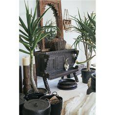 Manyara Home :: Furniture :: Vintage Indian Dowry Cabinet II
