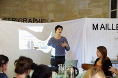 Sophie Doré développe les valeurs d'Etsy lors du Etsy camp du 1er octobre 2015