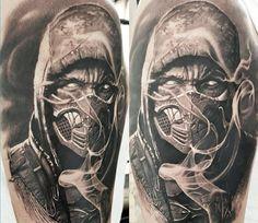 Mortal Kombat Tattoo by John Maxx | Tattoo No. 13036