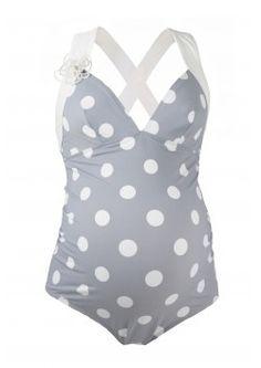Retro Swimwear, Maternity Swimsuit – Cache Coeur Lingerie