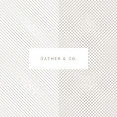 Gather & Co. by @twandco  #logo #branding #brandidentity #logotype #graphicdesign #design #contemporary #typography #studio #print #wholesale #organic #product