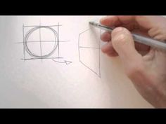 Draw Tip Tuesday - How to Draw Circles in Perspective - YouTube