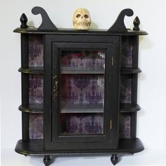 Hey I Found This Really Awesome Etsy Listing At Https Www 253144712 Gothic Curio Cabinet Wall Display
