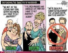 legal marriage, legal marriage...  illegal marriage?