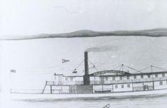 The Ida Whittier served on the upper St. John River between 1868 and till she and several others were put out of service by the New Brunswick Railway. Steamboats, New Brunswick, The St, Canoe, Community, River, History, Outdoor, Outdoors
