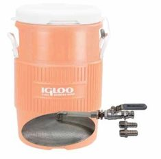 This Brew Hardware kit includes everything you need to convert a 10 gallon Igloo or Home Depot Rubbermaid Cooler to a Mash Tun. This kit includes… 12″ stainless steel domed false bottom…