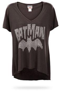 Batman Logo Relaxed Fit Ladies' Tee