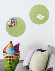 Circle Pinboard, Small in Pear Whiteboard, Wall Spaces, All Design, Fiber, Decals, Strong, Shapes, Texture, Stylish
